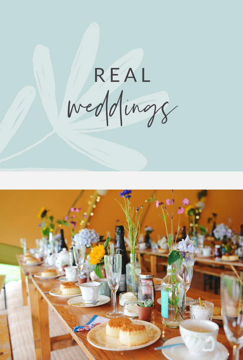 Real Tipi weddings gallery