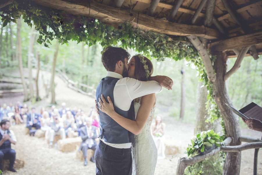 Real Tipi Weddings: The Paper Mill, Benenden