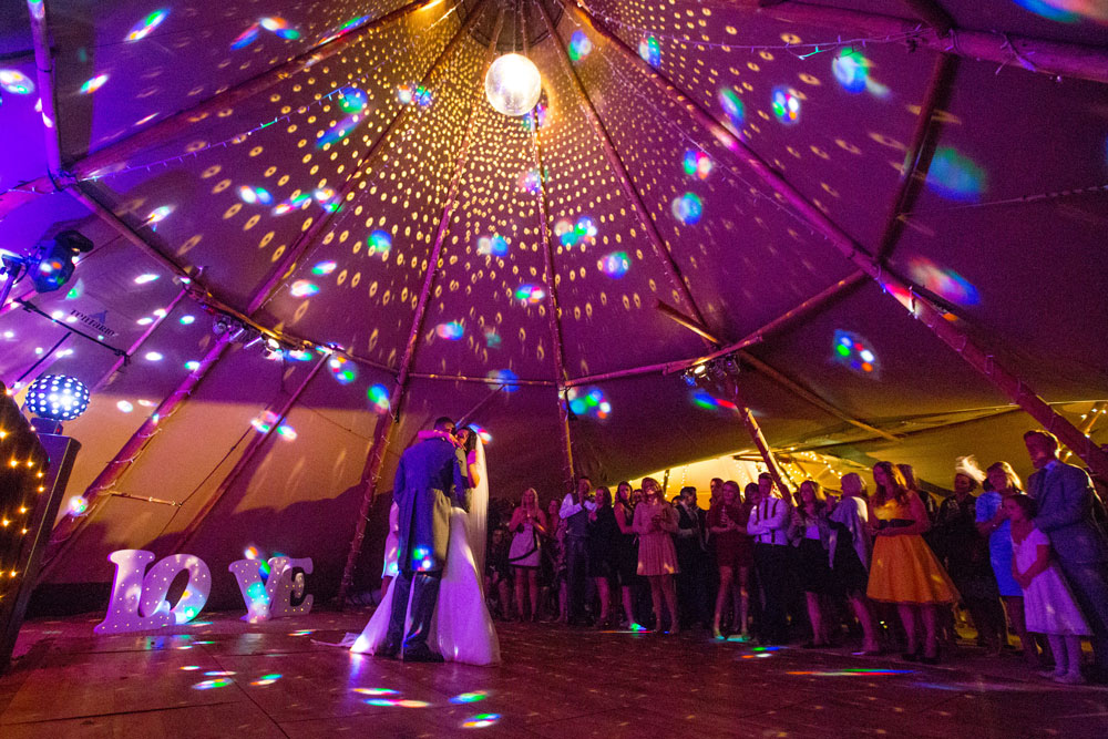 Real Tipi Weddings: Tepee Hire West Sussex