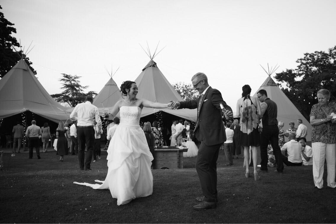 Real Tipi Weddings: Tepee Wedding Great Ote Hall, West Sussex