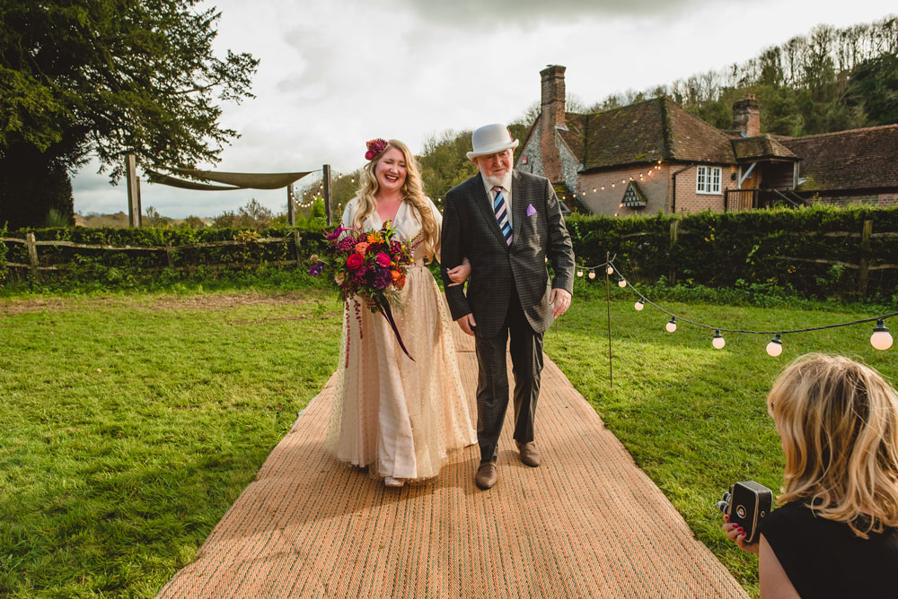 Real Tipi Weddings: Tipi Hire The White Horse, West Sussex