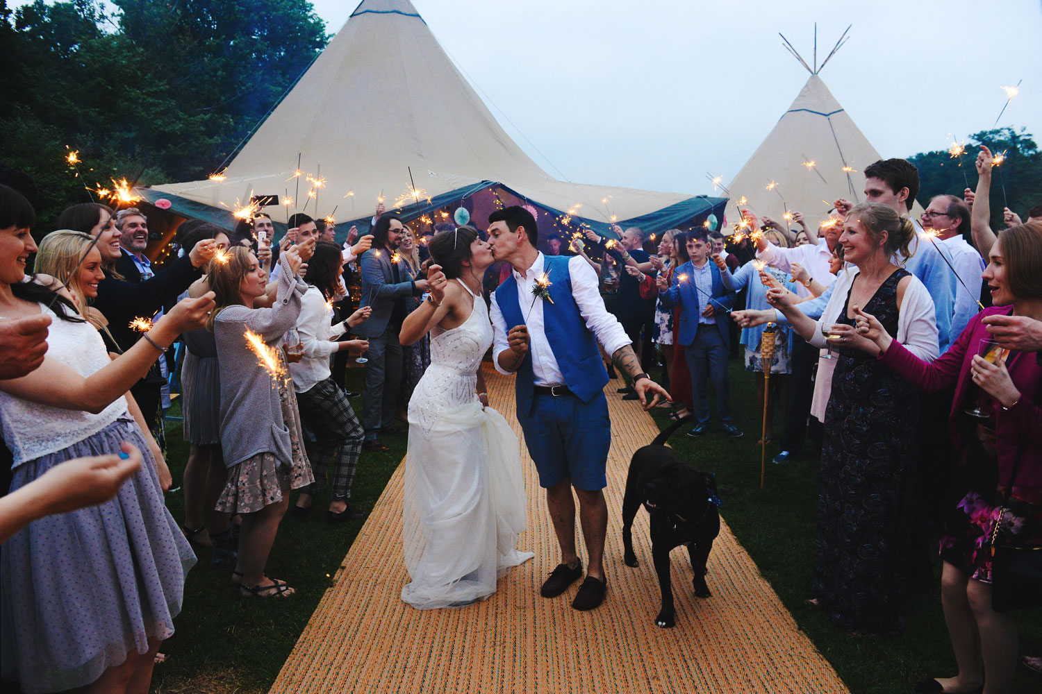 Real Tipi Weddings: Tentario, Grand Events