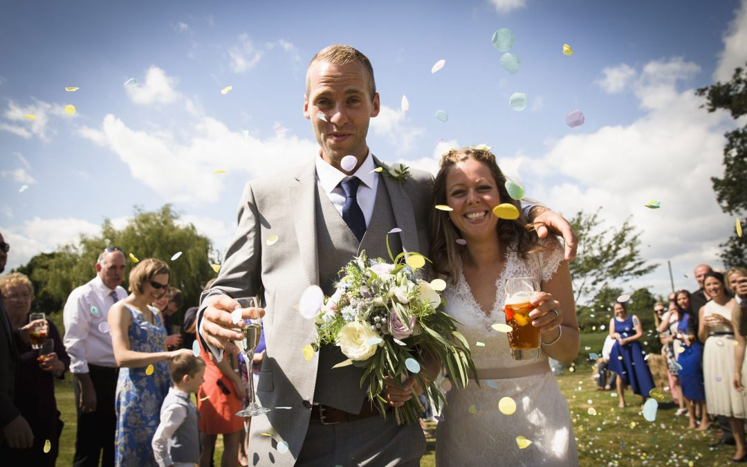 How to keep guests cool at a summer wedding
