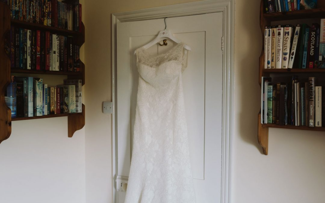 What to do with your wedding dress after your big day is over