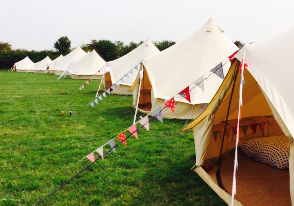 Glamping At Your Tipi Wedding