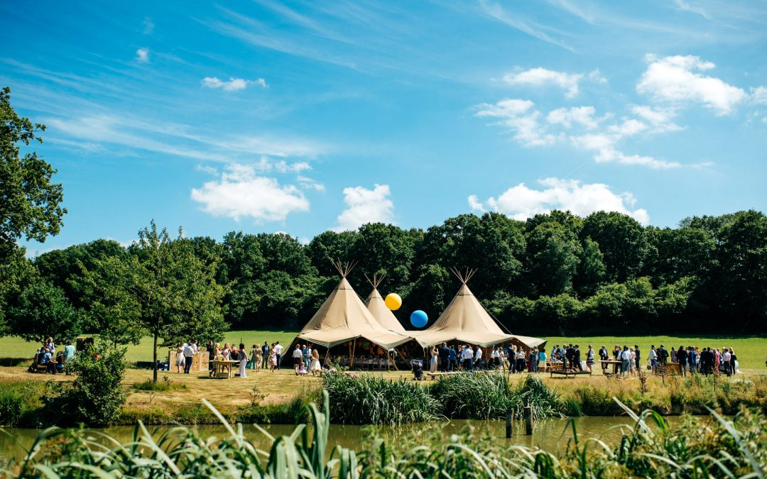 Our top choice of favourite Tipi wedding venues