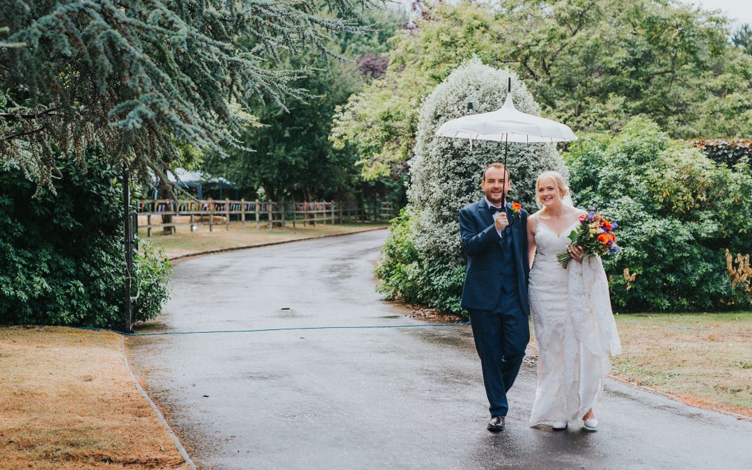 Will bad weather ruin your Tipi wedding, now the big day is here?