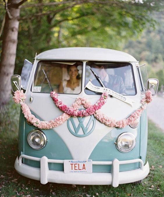 Tipi Wedding Transport Ideas